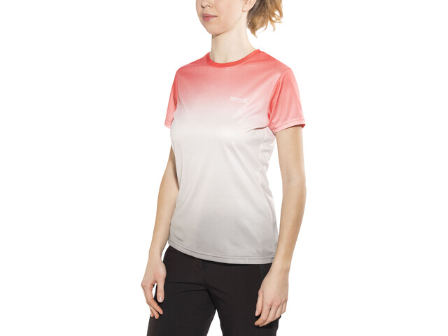 Regatta Fingal III T-Shirt Women Fiery Coral Ombre